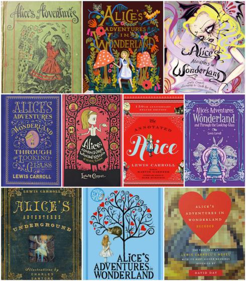 Top Ten Tuesday Alice Wonderland