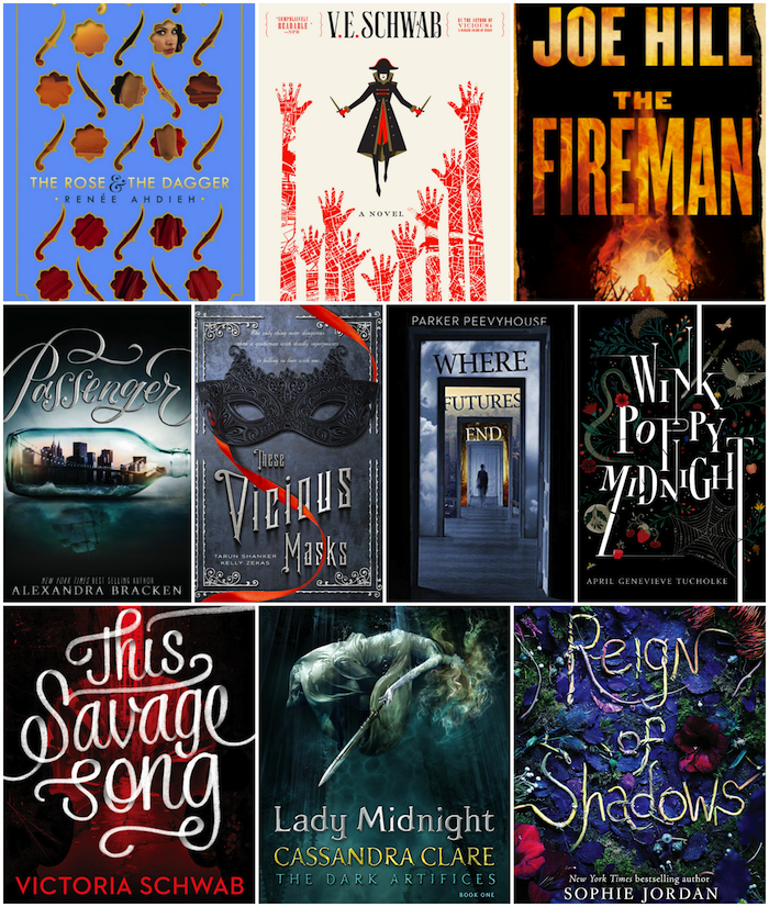 2016 New Releases Top 10 Tuesday