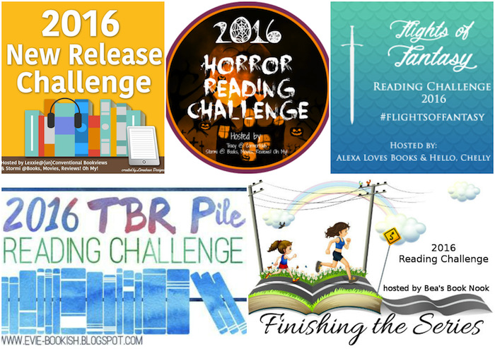 Bibliomantics 2016 Reading Challenges