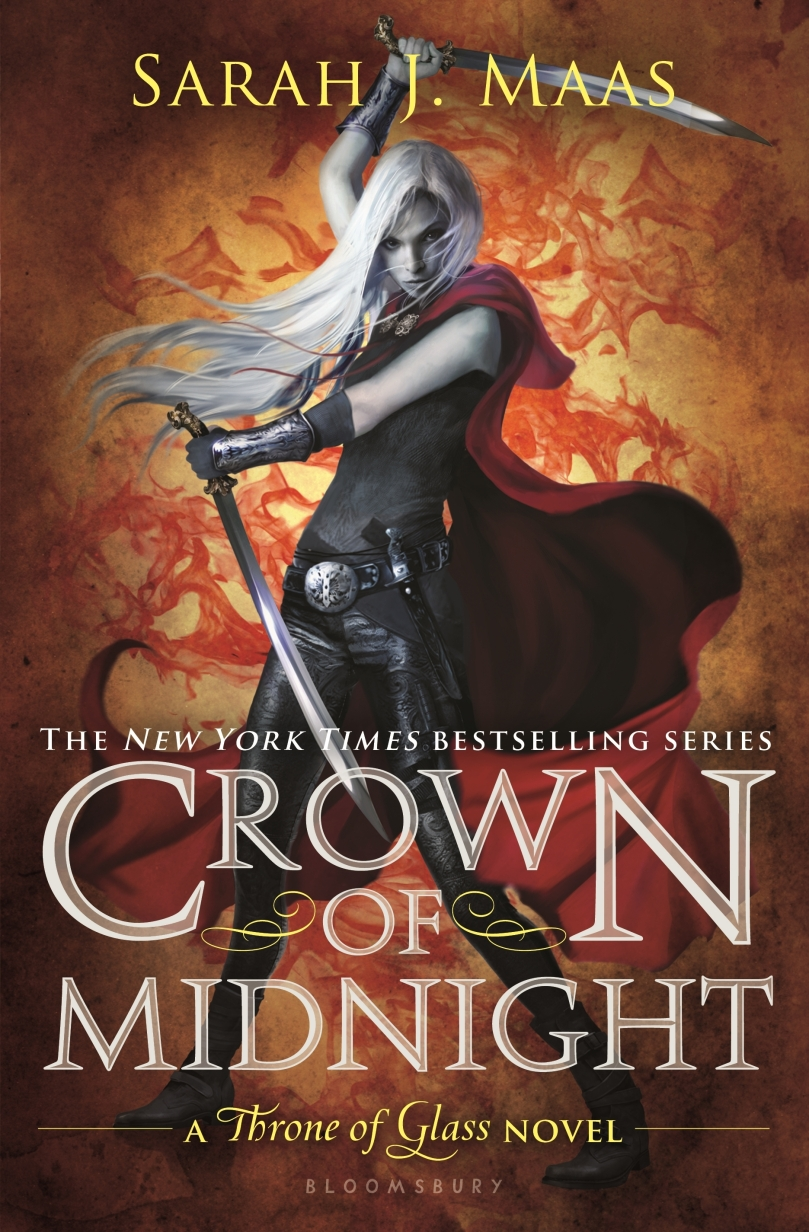 Crown of Midnight Sarah J Maas Cover