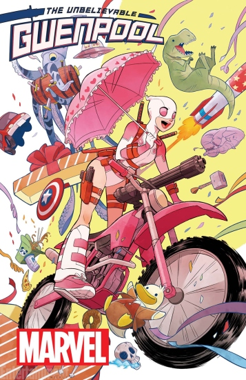 The Unbelievable Gwenpool Cover
