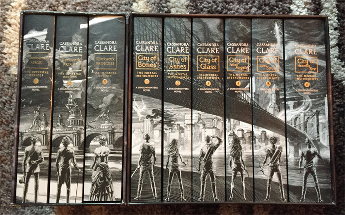 Infernal Devices Mortal Instruments Spines