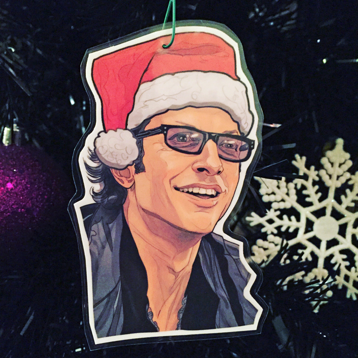 Jeff Golblum Ian Malcolm Ornament
