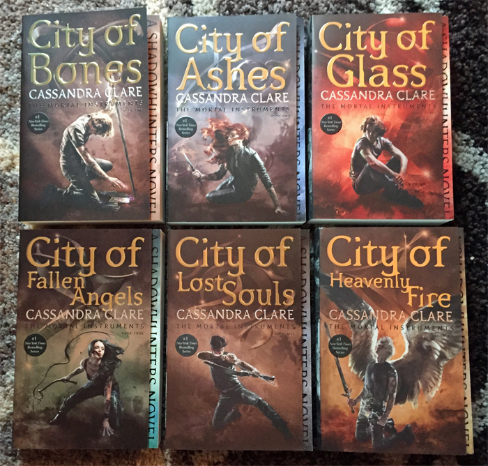 Mortal Instruments Redesign Covers