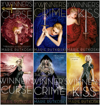 Image result for the winner's trilogy new covers
