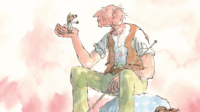 The BFG Illustration