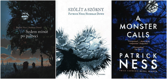 A Monster Calls Favorite International Covers