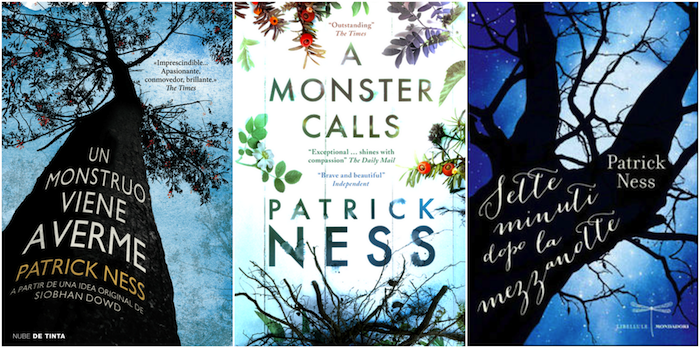 A Monster Calls Least Favorite International Covers