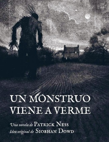 A Monster Calls Spanish Cover