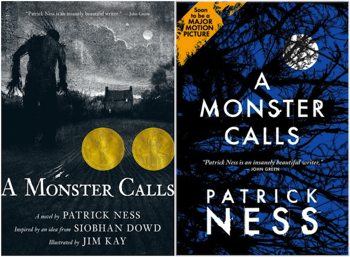A Monster Calls US Covers