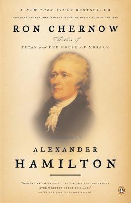 Alexander Hamilton Ron Chernow Cover