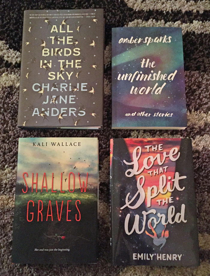 January 2016 Book Haul New Releases