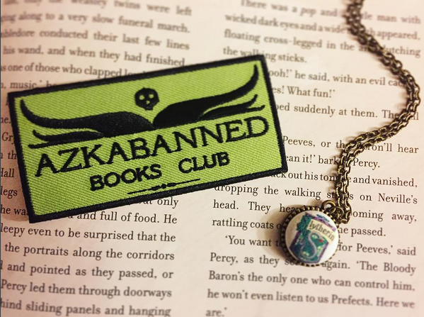 Slytherin Azkabanned Books Club