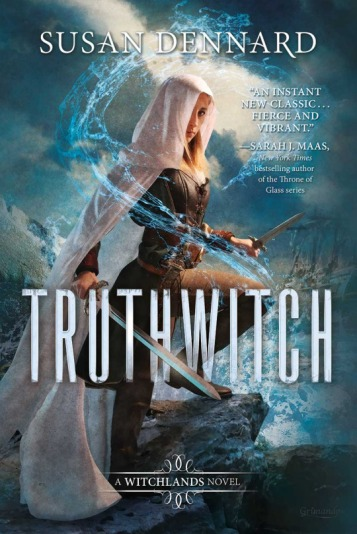Truthwitch Susan Dennard Cover