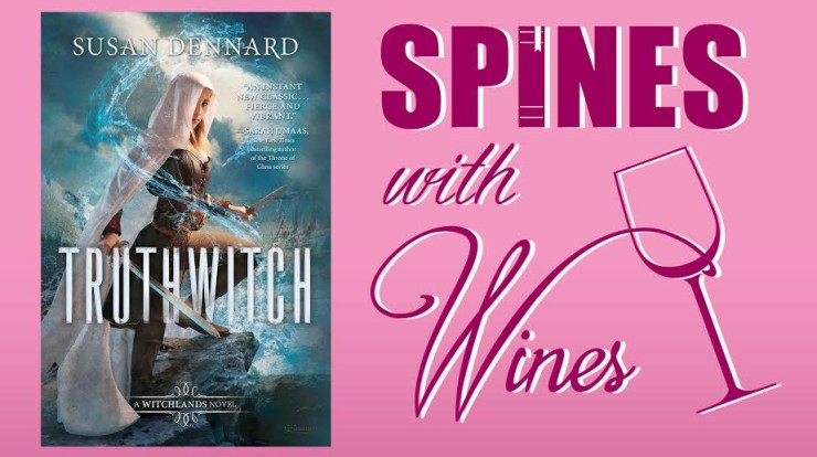 Spines with Wines Book Club Truthwitch