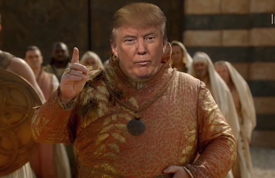 Donald Trump Westeros Winter is Trumping