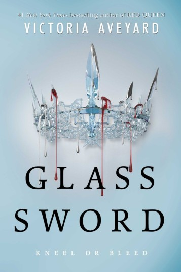 Glass Sword Victoria Aveyard Book Cover