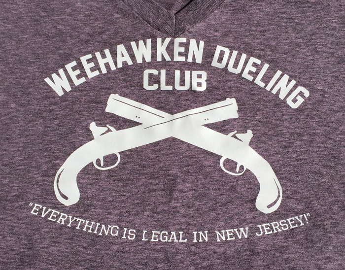 Hamilton Dueling Club Shirt
