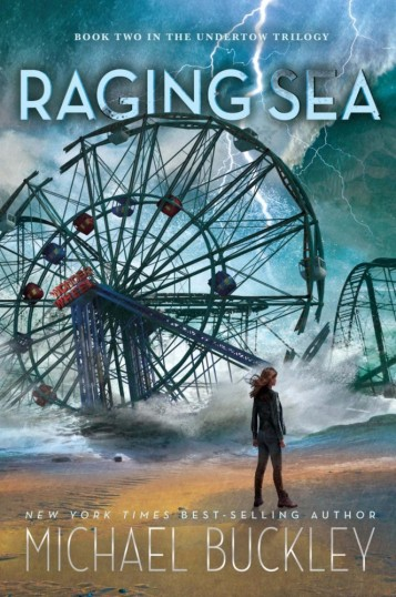 Raging Sea Michael Buckley Cover