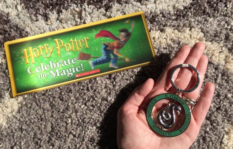 Slytherin Keychain Harry Potter Bookmark