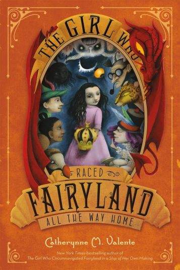 Girl Who Raced Fairyland Book Cover