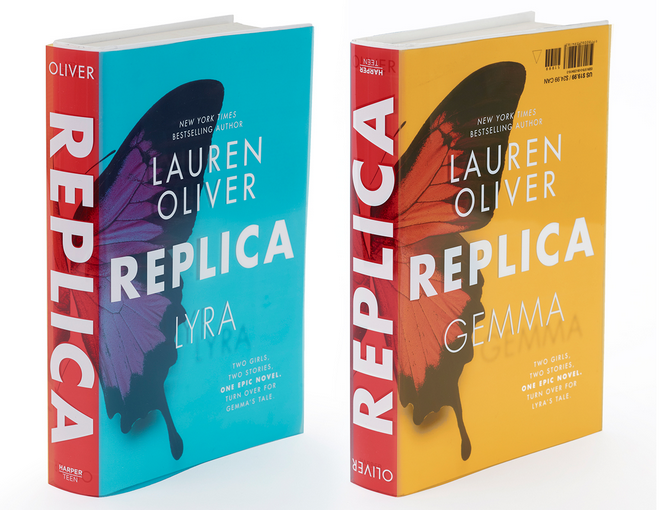 Lauren Oliver Replica Book Cover
