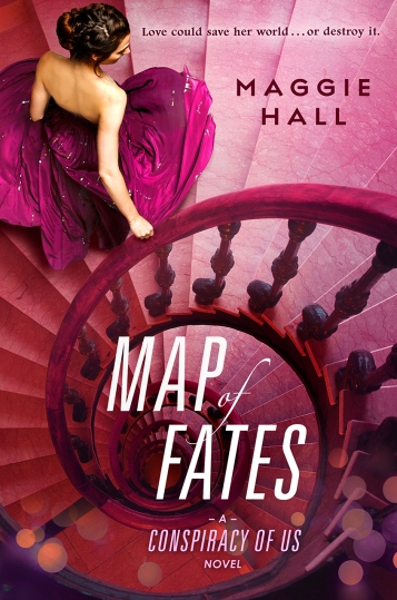 Map of Fates Maggie Hall Book Cover