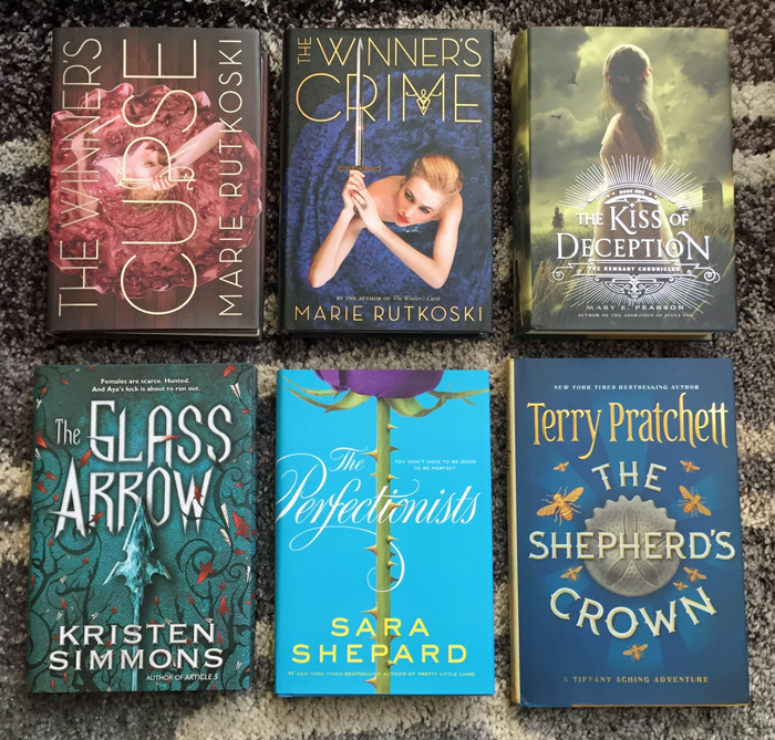 March 2016 Book Haul Outlet YA