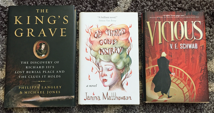 March 2016 Book Haul Outlet