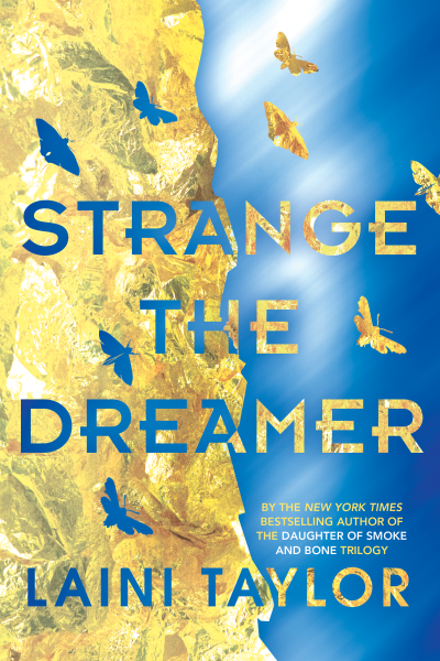 Strange the Dreamer Laini Taylor Cover