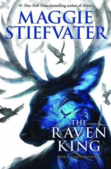 The Raven King Maggie Stiefvater Book Cover