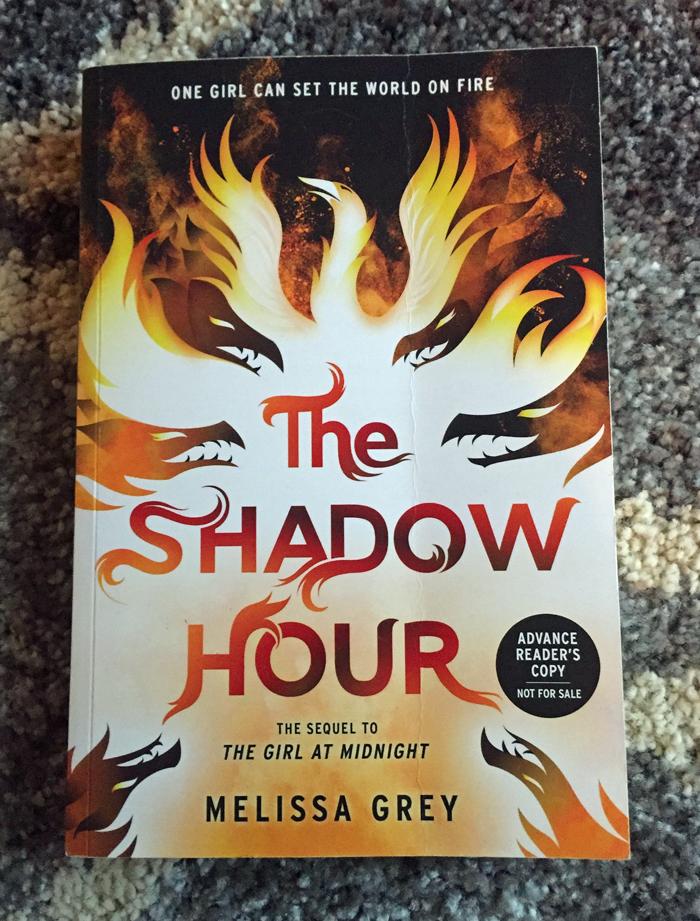 The Shadow Hour Arc April 2016 Book Haul