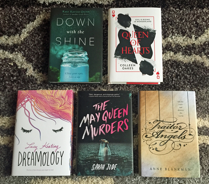 May 2016 Book Haul New Hardcover Releases
