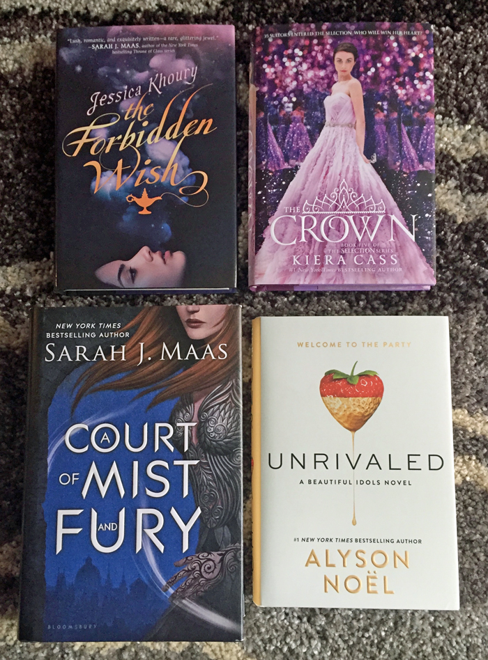 May 2016 Book Haul New Releases