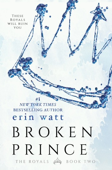 Broken Prince the Royals Book Cover