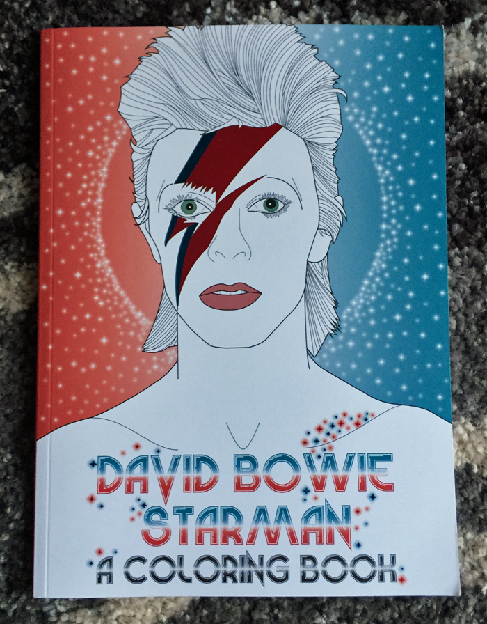 David Bowie Coloring Book