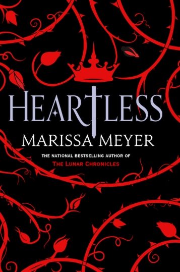 Heartless Marissa Meyer Book COver