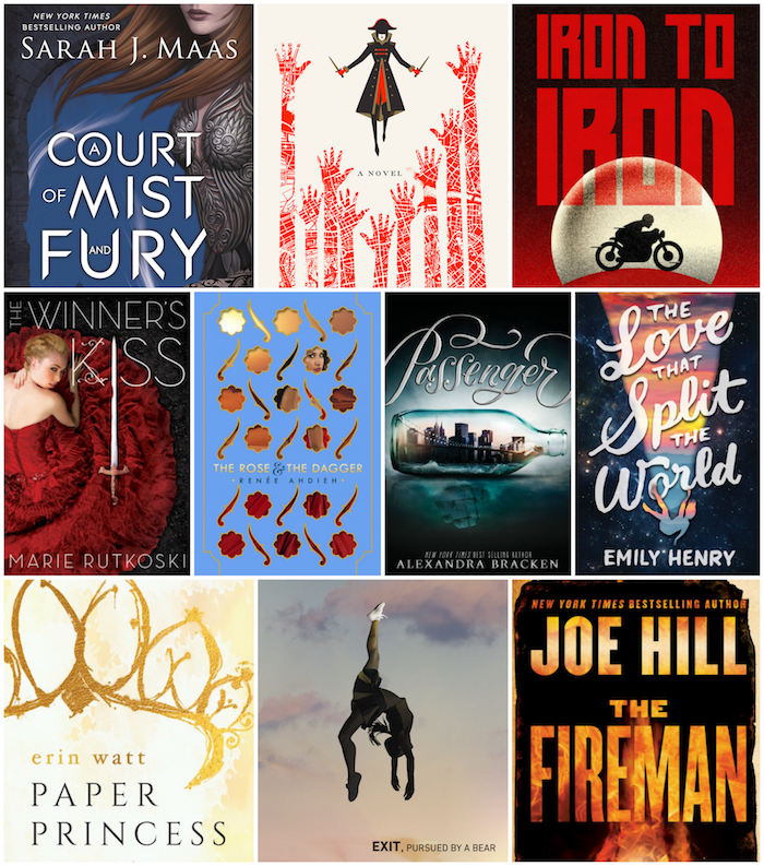 Top 10 Tuesday Favorite 2016 Releases So Far
