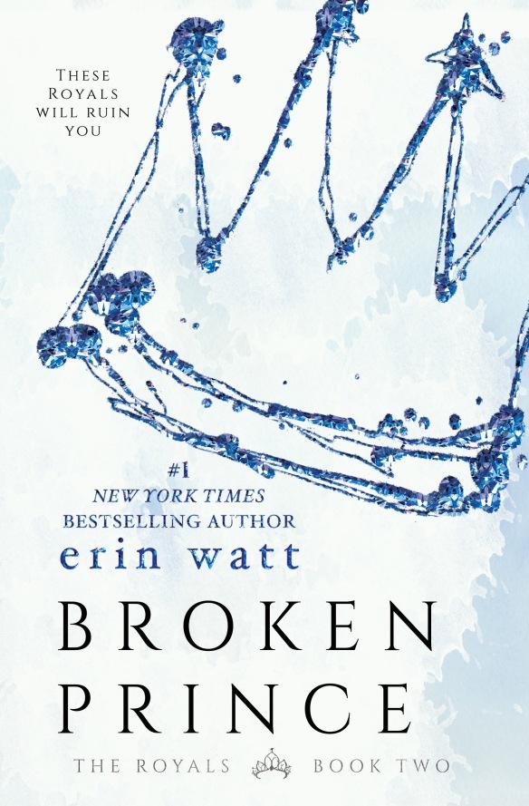 Broken Prince Erin Watt Book Cover