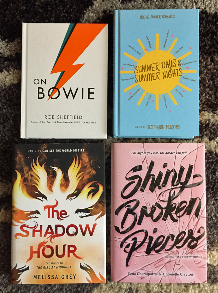 July 2016 New Book Releases Haul