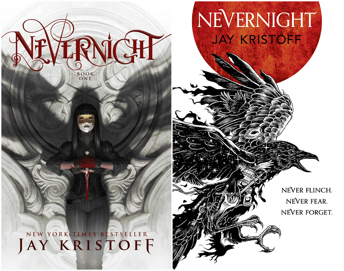 Nevernight Book Cover Battle UK Vs US