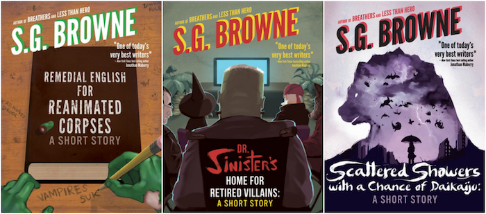 SG Browne Short Story Covers