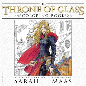 Throne of Glass Covering Book