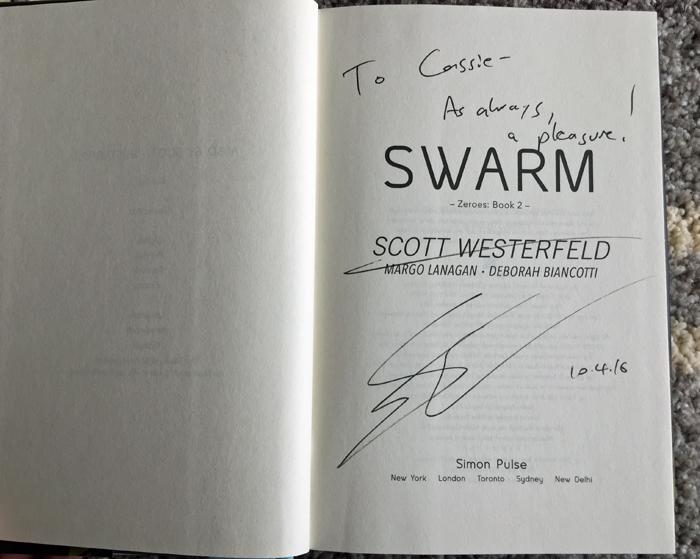 Swarm Autographed Copy